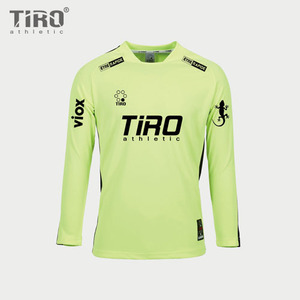TIRO ETERNAL.17 L/S (Y.GREEN/BLACK)